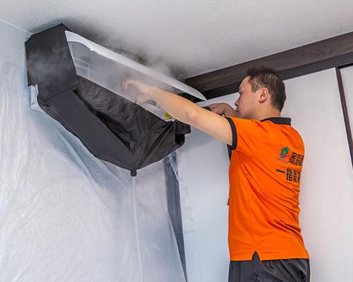空调-挂式清洗
