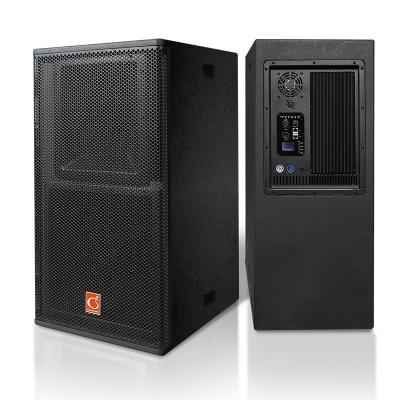 LT-3AP 单12寸二分频,两路号筒加载式全音域有源音箱