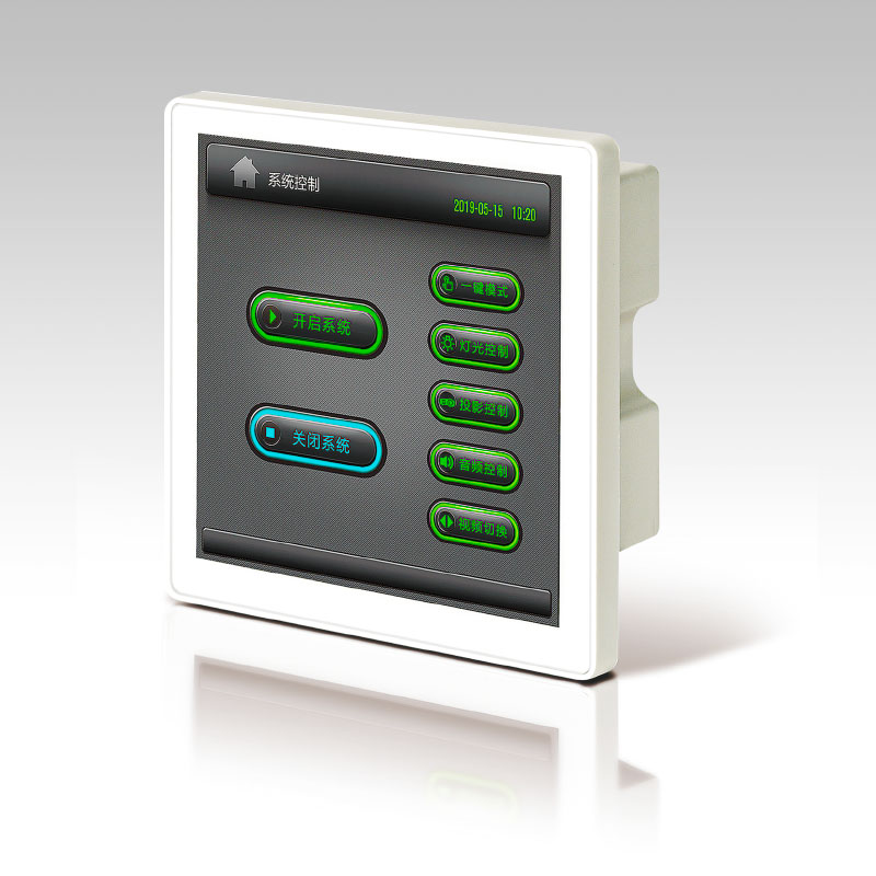 WP-430/ WP-420可编程液晶电容触控墙面板