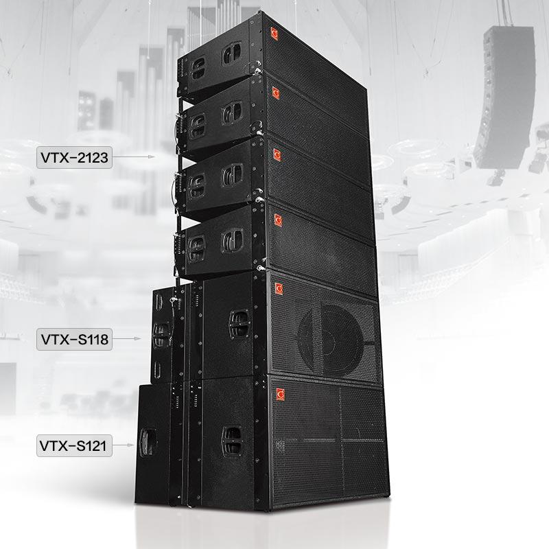 VTX-2123/ S118/ S121 雙12寸三分頻線陣列音箱