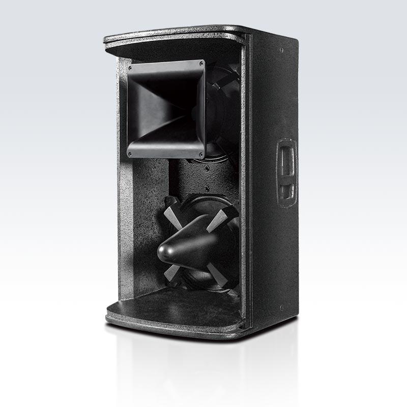 LT-5 雷霆5號 雙12寸二分頻,緊湊型高效能號筒加載式全音域音箱