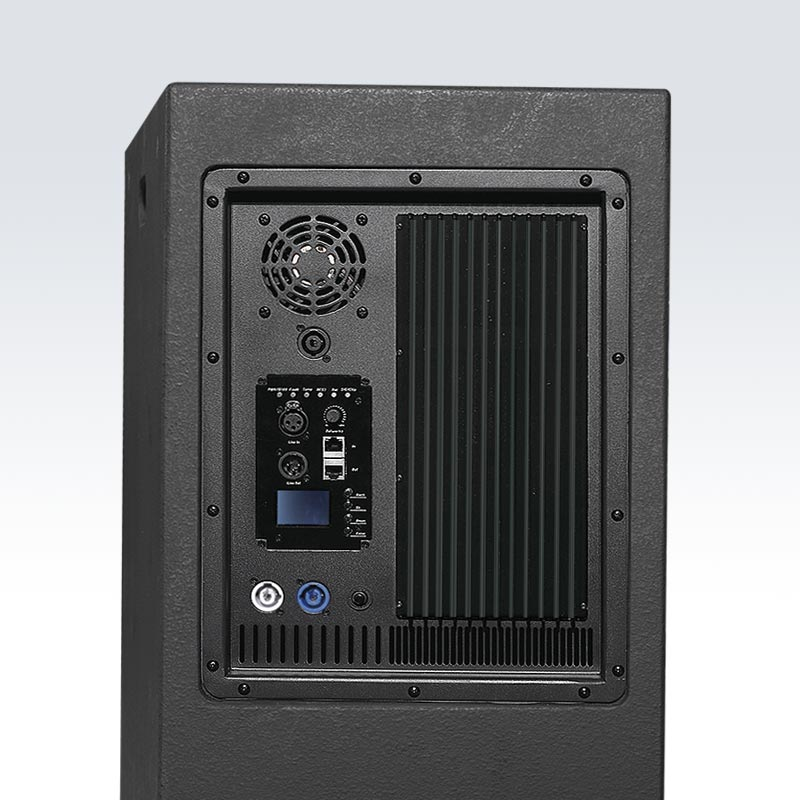 LT-3AP 單12寸二分頻,兩路號筒加載式全音域有源音箱