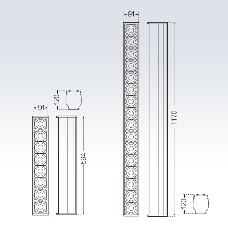 线性阵列全频扬声器    TSA-2508/TSA-2516