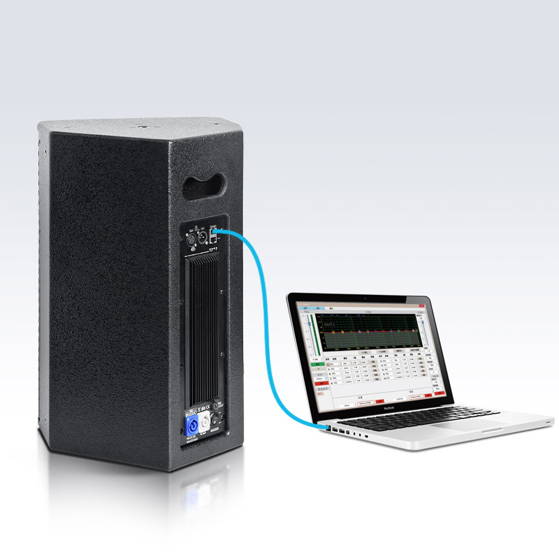 FC-10AP二分频全音域有源舞台返送音箱