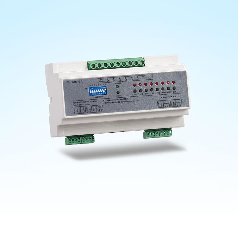PMD-L508 8路導軌式強電模塊