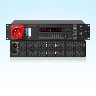 SPS-312/D 12路專業演出系統智能電源(三相)
