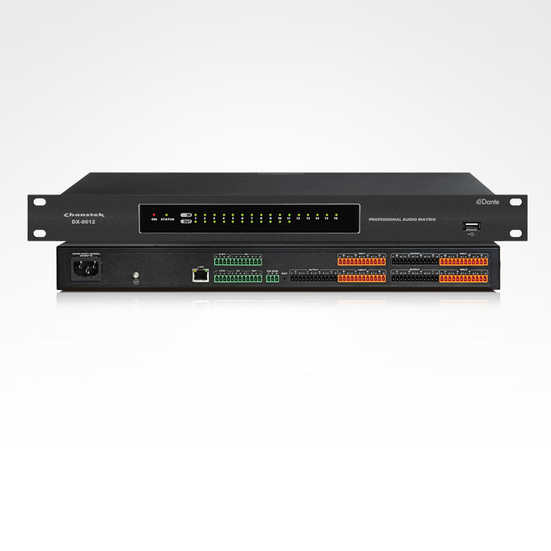 DX-8000系列 數字音頻媒體矩陣