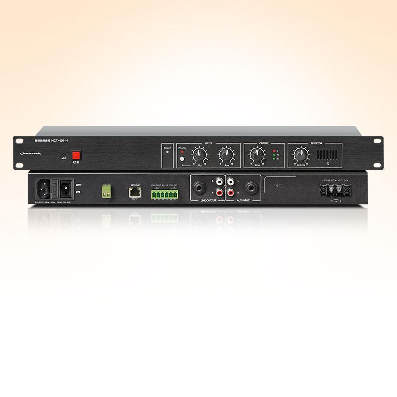 NCT-1011N 網絡音頻機架式終端