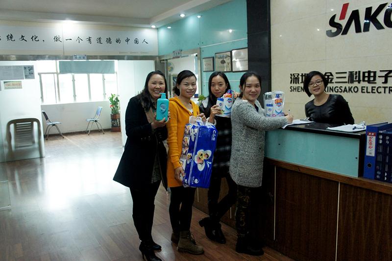 阳春三月  欢庆三八妇女节