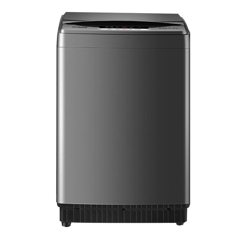 新乐全自动洗衣机8kg家用洗脱一体出租房宿舍小型8公斤波轮洗衣机XQB80-X61E