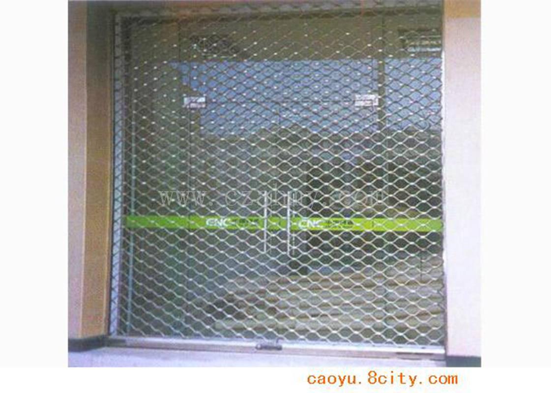 不锈钢网型卷帘门