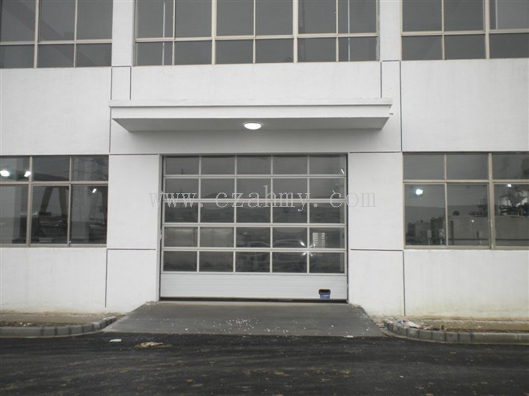 4S店透视滑升门