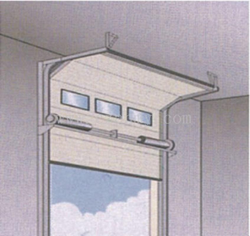 视窗工业滑升门