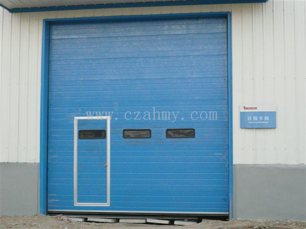 门中门工业提升门