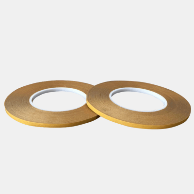 PET黃色可撕工業透明雙面膠