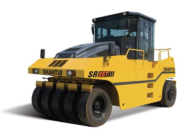 SR26T/SR26T-3胶轮压路机