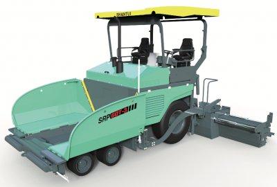 SRP60T-3轮胎式摊铺机