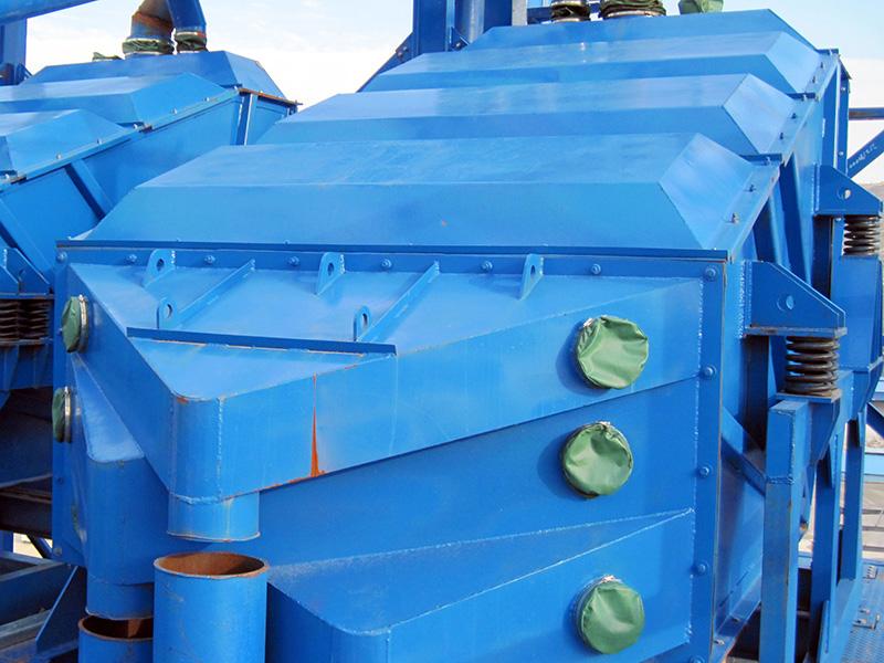 干混砂浆搅拌站专用振动筛筛分设备