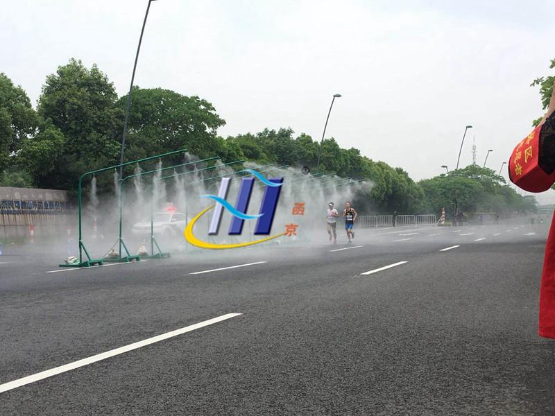 喷雾降温设备中的雾是什么?