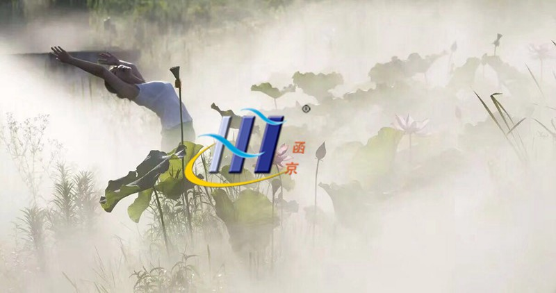 人造雾在园林造景中的应用