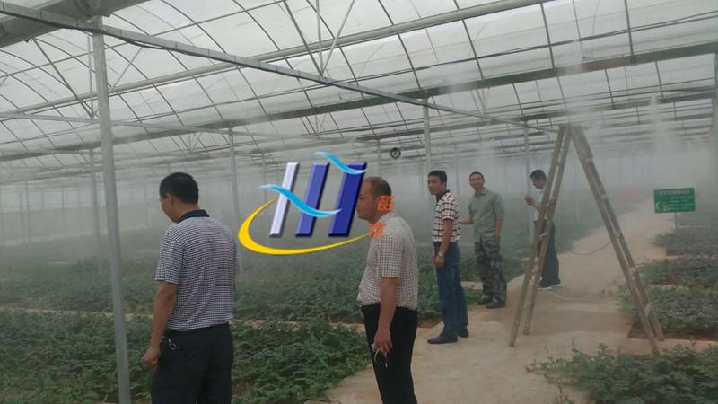 喷雾降温系统在生产车间的应用