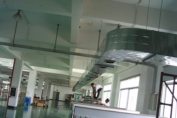 佛山市纺织业厂房类型降温的有效方案2