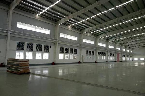 广州某宝马4S店汽车维修保养车间通风降温工程项目