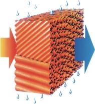 厂房车间降温通风降温水帘系统