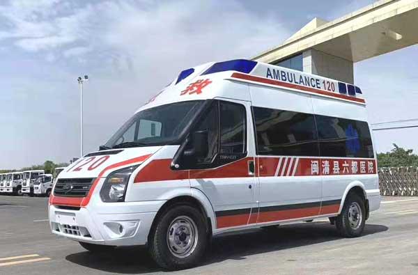 福特全順救護車廠家生產的有哪些救護車