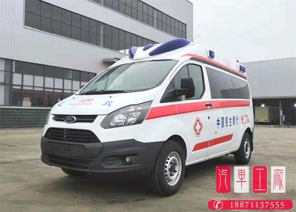 选择福特新全顺V362做为救护车准没错