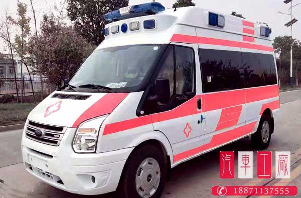 福特负压救护车福特v348负压救护车
