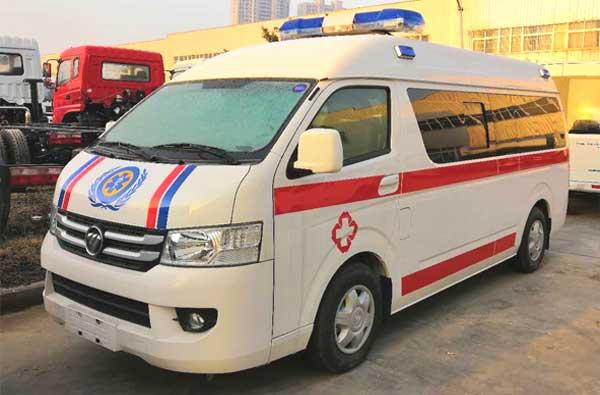 福田G7转运型救护车