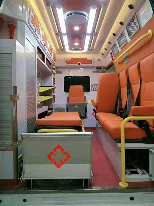 福特v348客运版长轴原高顶救护车