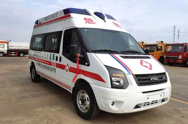 福特v348商运版福星顶救护车