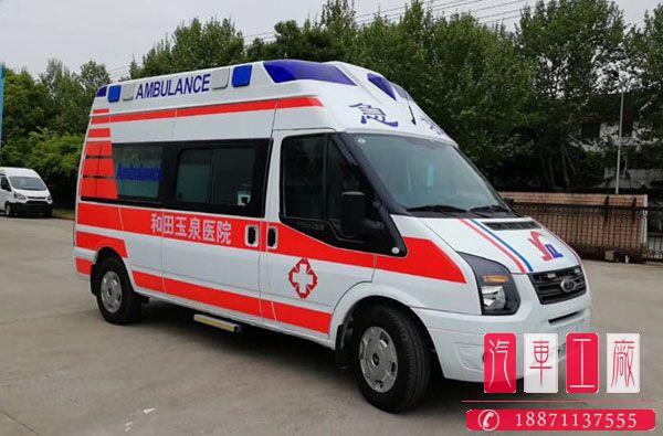 福特v348负压型救护车