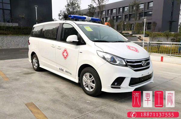 国六上汽大通G10救护车