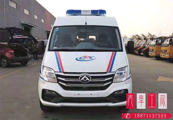 国六上汽大通v80短轴救护车