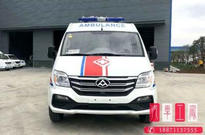 国六上汽大通v80长轴中顶救护车