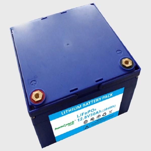 12V 30Ah LiFePO4 batteries