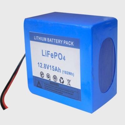 12.8V 15Ah LiFePO4 batteries