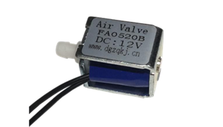 24V微型电磁阀Fa0520B泄气阀4.5V吸奶器电磁阀 6V微型气阀12V