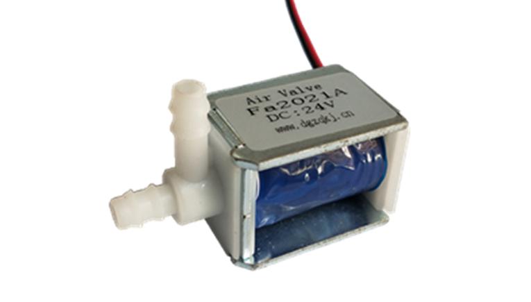 微型电磁阀Fa2021A常闭式电磁阀 微型电子阀 电磁泄气阀