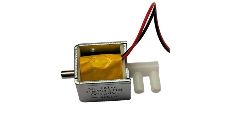 微型换向阀 两位三通阀 微型电磁阀FA2318B通径3mm电磁泄气阀