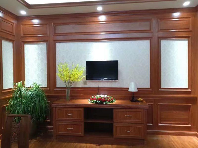 同色客厅背景墙系列展示
