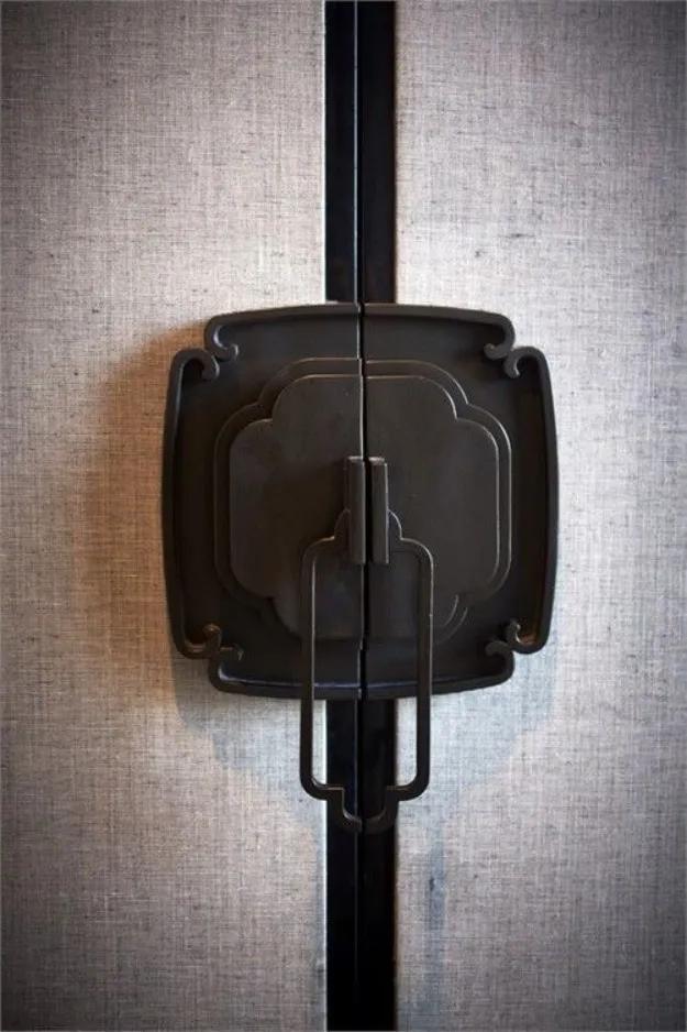 门帘,30款最美中式门设计