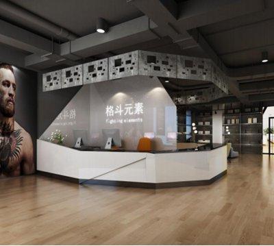 北京拳击馆设计-商业装修设计效果图