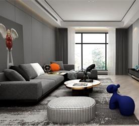 北京昆仑域190㎡室内设计作品