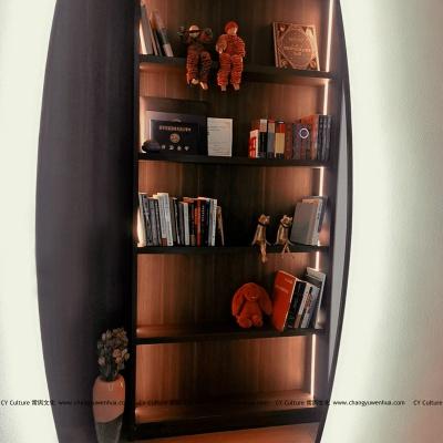 现代风格文件柜-展示柜效果图