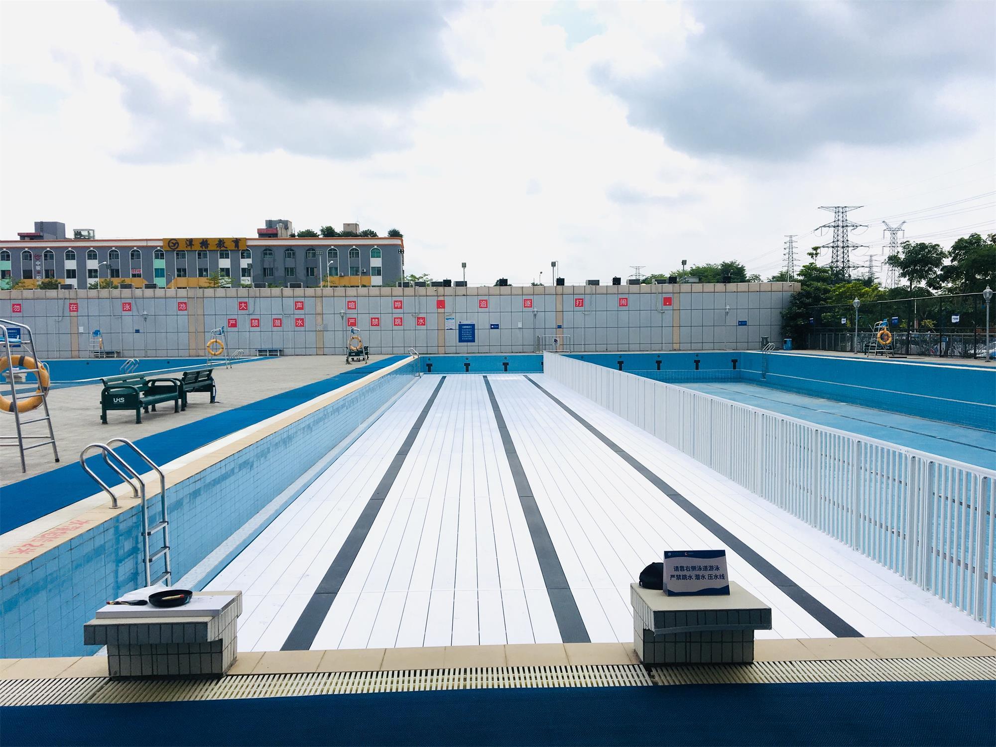 深圳松岗体育中心垫层