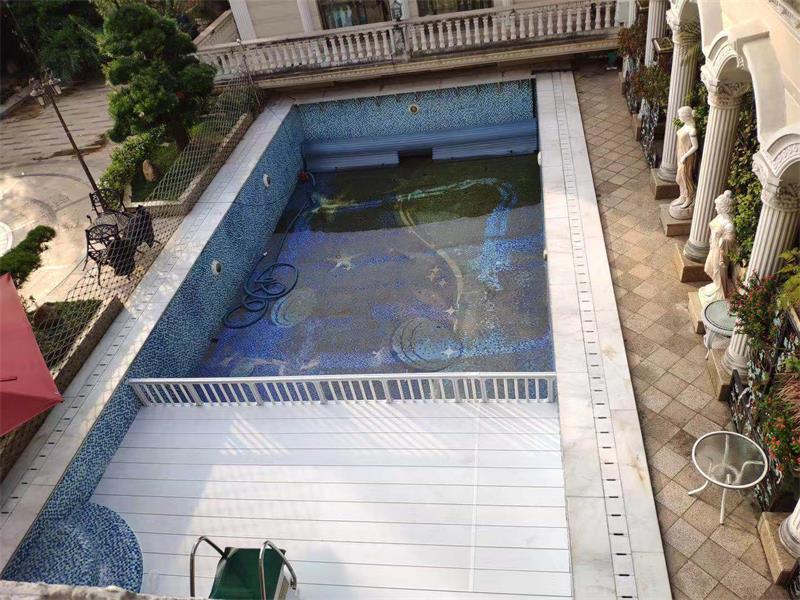 华南碧桂园楼顶别墅泳池垫层案例